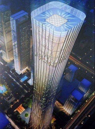 国内4年千亿建6座摩天楼 最高者已超迪拜塔