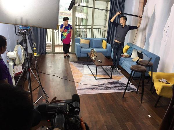 重庆电视台方言系列剧《我有一套避暑房》贵州开机