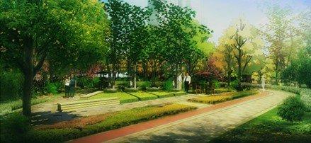 楼盘看宜居 仁安龙城国际演绎CBD后花园生活