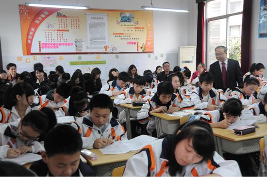 长江中学课改实验开放周活动第二天