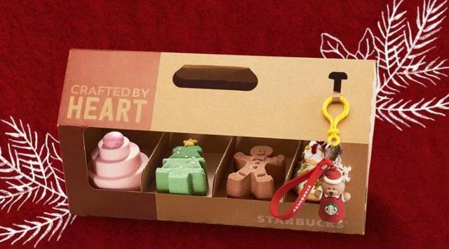 星巴克蛋糕礼盒,以爱之名温暖你