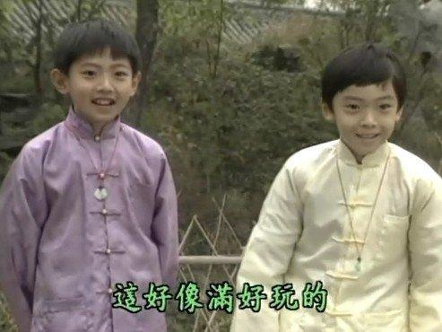 组图:琼瑶剧童星20年后比拼 正太变大叔了