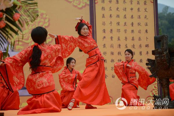 合唱谱西海之雁-上午10时,鼓乐齐鸣,舞步蹁跹,祭祀活动在汉代乐舞《重回汉唐》
