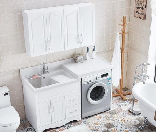 洗衣机 这个占地方的家电怎么收拾?