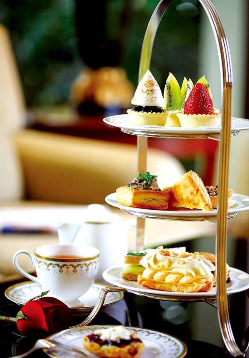 星级酒店里的悠闲下午茶
