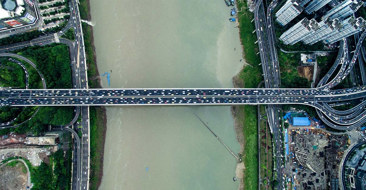 """""""上帝视角""""看桥都 你从未看过的重庆美景"""