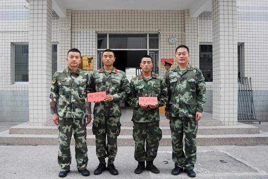 九寨沟籍战士家中遭遇地震 武警重庆总队党委及时救助