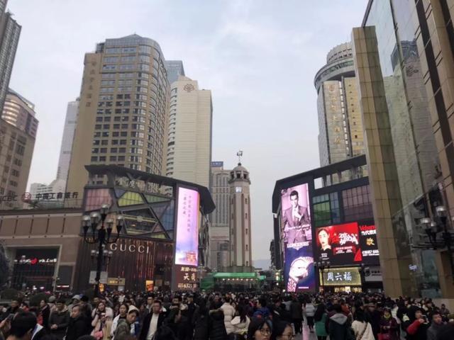 沙坪坝:元旦小长假渝中接待游客247万人次