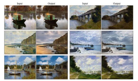 P图新境界 AI算法能将一幅画变成真实照片