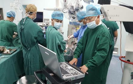 脑卒中急救 重庆市急救中心首次成功采用B超辅助下神经内镜技术