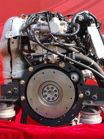 长安汽车首款S系列涡轮发动机点火成功图片