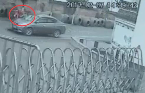 荣昌一男子开车撞死人逃逸 3小时归案