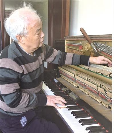 顾森荣:上海钢琴调律师的涪陵情结