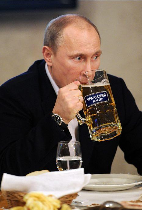 普京爱喝的啤酒来重庆 16度乌拉尔你敢喝?