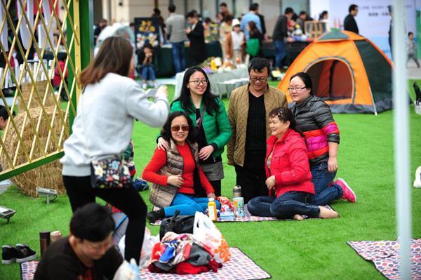 长江草地生活节盛大开幕,重庆市民春游新去处