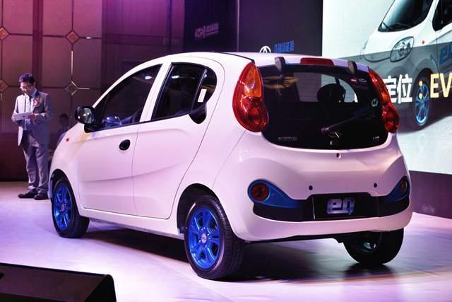 奇瑞eq电动车正式上市 补贴后仅售5.98万起高清图片