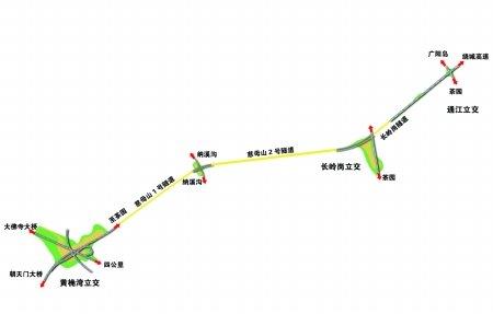 慈母山隧道通车了 江北嘴10分钟到茶园
