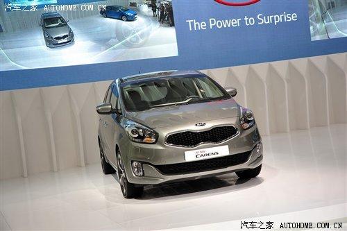 2012广州车展 起亚全新一代佳乐亮相 汽车之家高清图片
