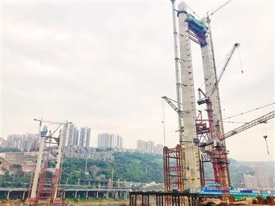 红岩村大桥年内合龙明年建成 缓解嘉华和石门通行压力