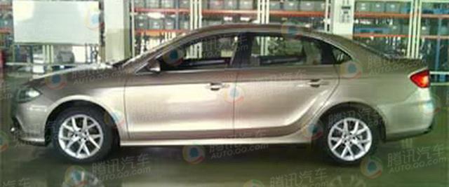 [新车谍报]改款中华H530曝光 上半年上市