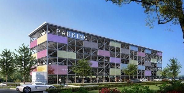 黔江首个智能化机械式立体停车库即将开工建设
