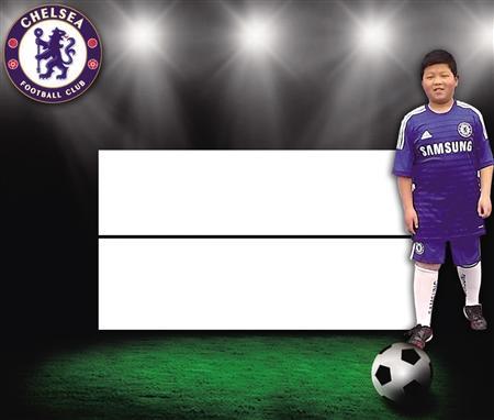 小胖墩踢出大梦想 11岁男孩儿成切尔西足球少年