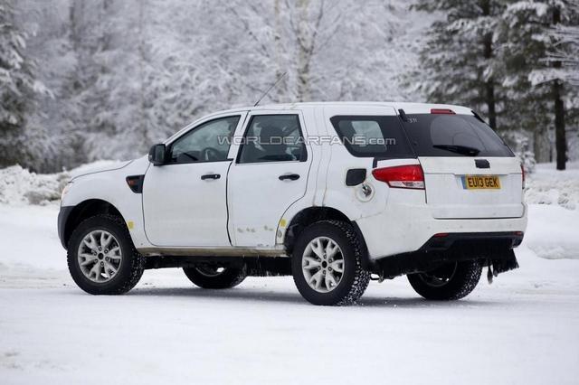 福特全新SUV车型谍照曝光 或下半年推出高清图片