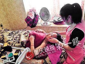 84岁退休女钳工每周进1次美容院 感叹进美容院太晚