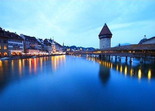瑞士琉森小镇 大仲马笔下世界最美的明珠