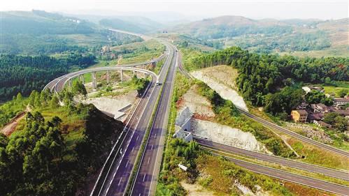 丰忠高速进入扫尾阶段 预计年底建成通车