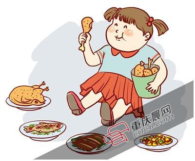 由于从小养成了吃肉的习惯,蔬菜水果她基本不吃.图片