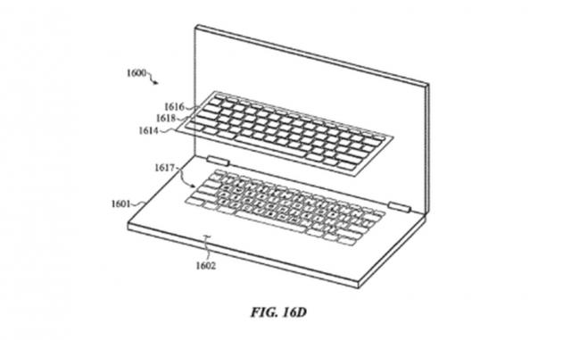 苹果最新键盘专利曝光 或采用全触控操作