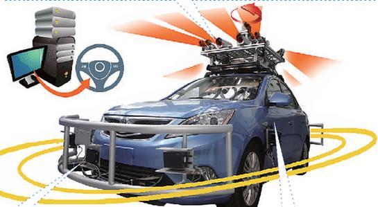 重庆造无人驾驶汽车亮相 达20公里时速