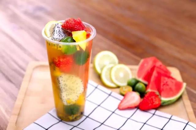 夏日炎炎 让水果茶给你整日神清气爽