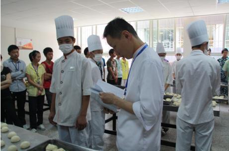 重庆行知技师学院举办第二届烘焙专业技能测评大赛