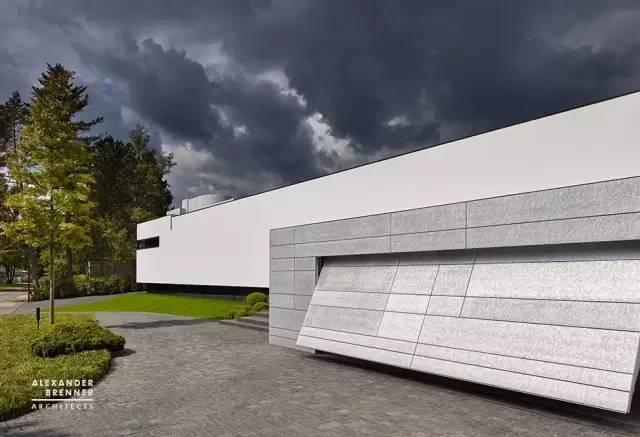 德国工匠级的建筑设计!极简又大方