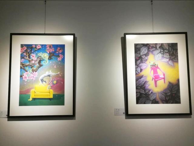 脑洞大开!又一本地艺术家画展在刘开渠艺术学校举办