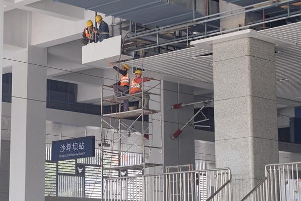 重庆沙坪坝车站启动静态验收 成渝1小时直达将成现实