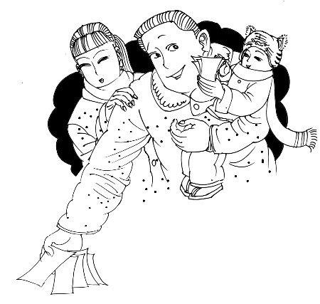 春节纠结压岁钱: 多发怕赔 少发怕丢面子(图)