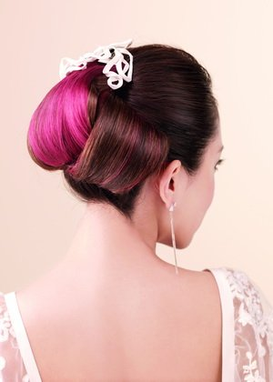新娘短发造型