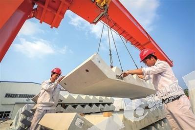 重庆首个全装配式大楼投用 位于九永高速沿线