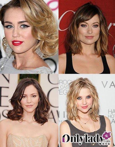 欧美当季最in发型 蓬; 蓬松卷发走在前;; 欧美当季最流行发型 蓬松