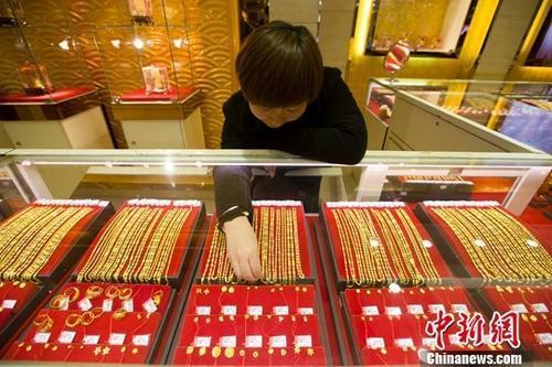 中国黄金零售投资需求连续四个季度增长