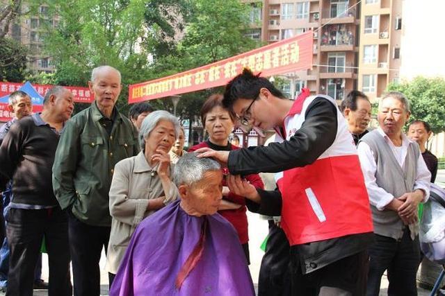 康庄美地二社区邻里节活动:60多名志愿者现场服务