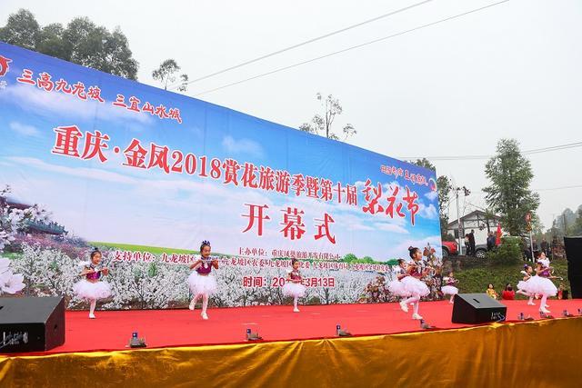 金凤镇赏花旅游季暨第十届梨花节今日隆重举行