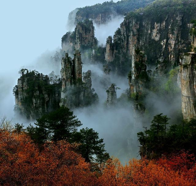 中国首批世界自然遗产,全球首批世界地质公园,全国首批5a景区,全国