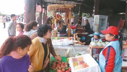赴台大陆游客锐减 水果十元吃到饱