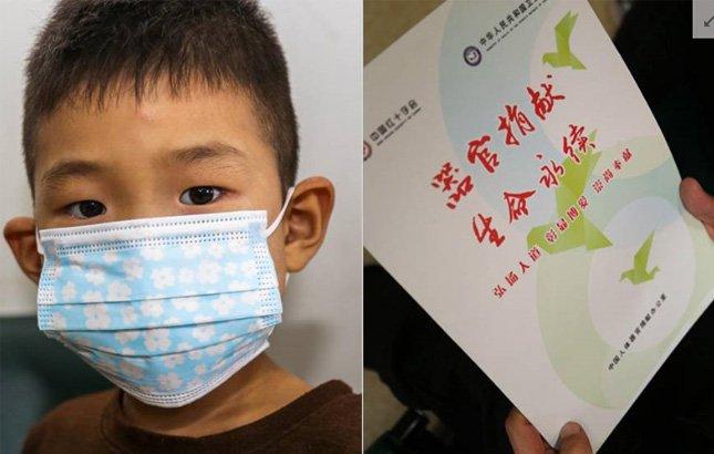 5岁重病男孩捐献器官:另一个我陪爸妈