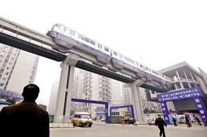 轨道三号线有望下月通车 站点百米内都增公交站