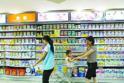 中国婴幼儿洋奶粉7成不合格 原产地以澳洲居多